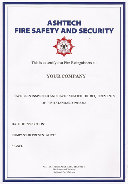 Fire Safety Services | Ashtech Fire Safety & Security