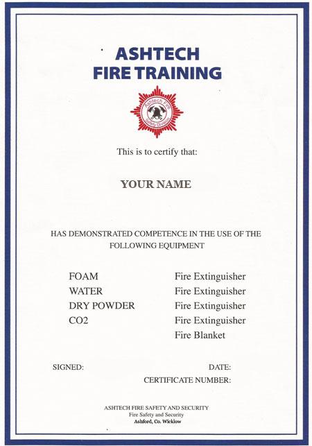 Fire Extinguishers Training